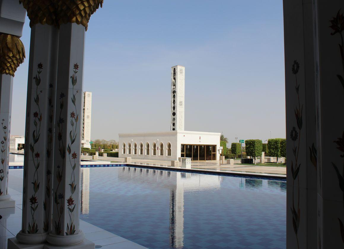 mosquée Abu Dhabi