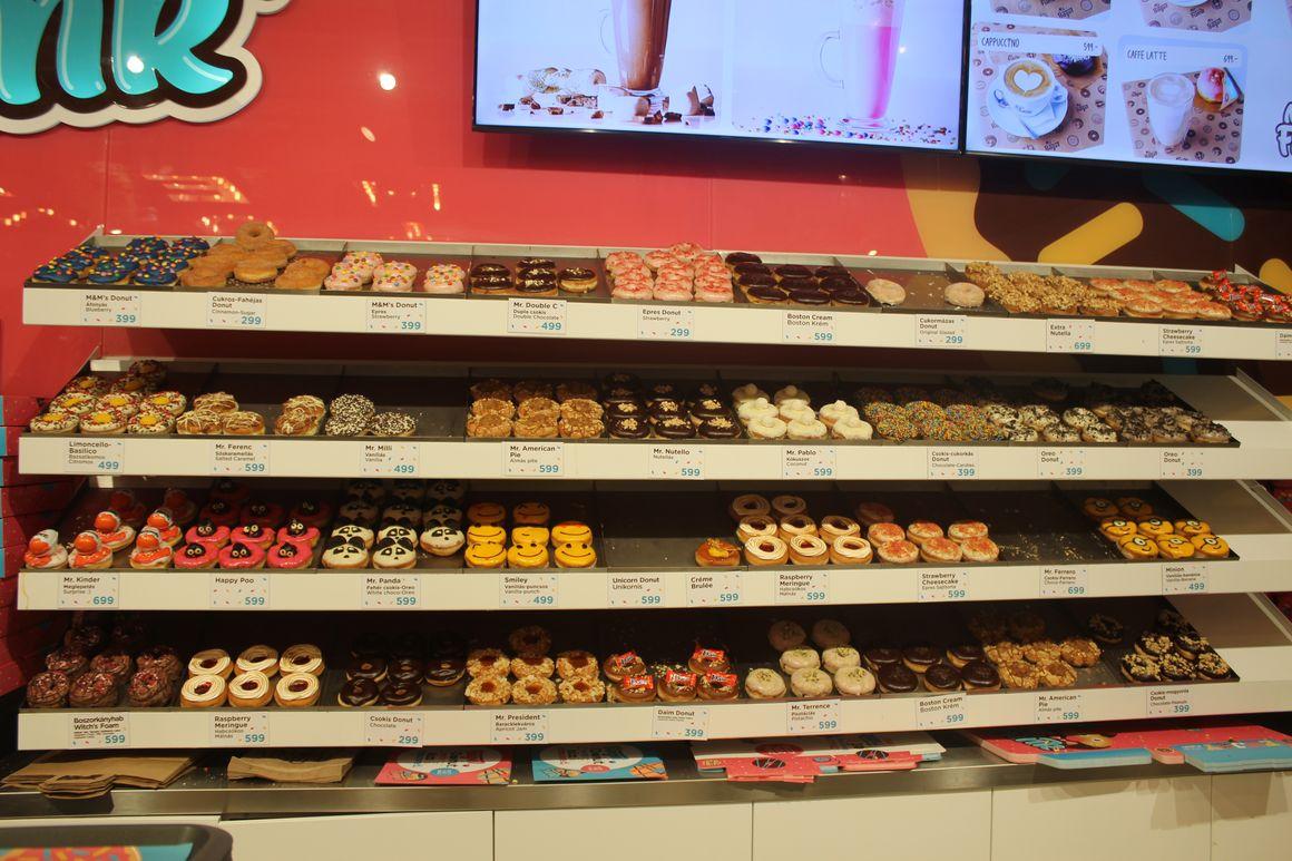 MR funk donuts Budapest citytrip lilytoutsourire