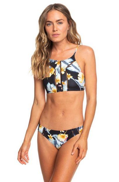 10 maillots de bain pour aller surfer - roxy ensemble bikini à fleurs - lilytoutsourire