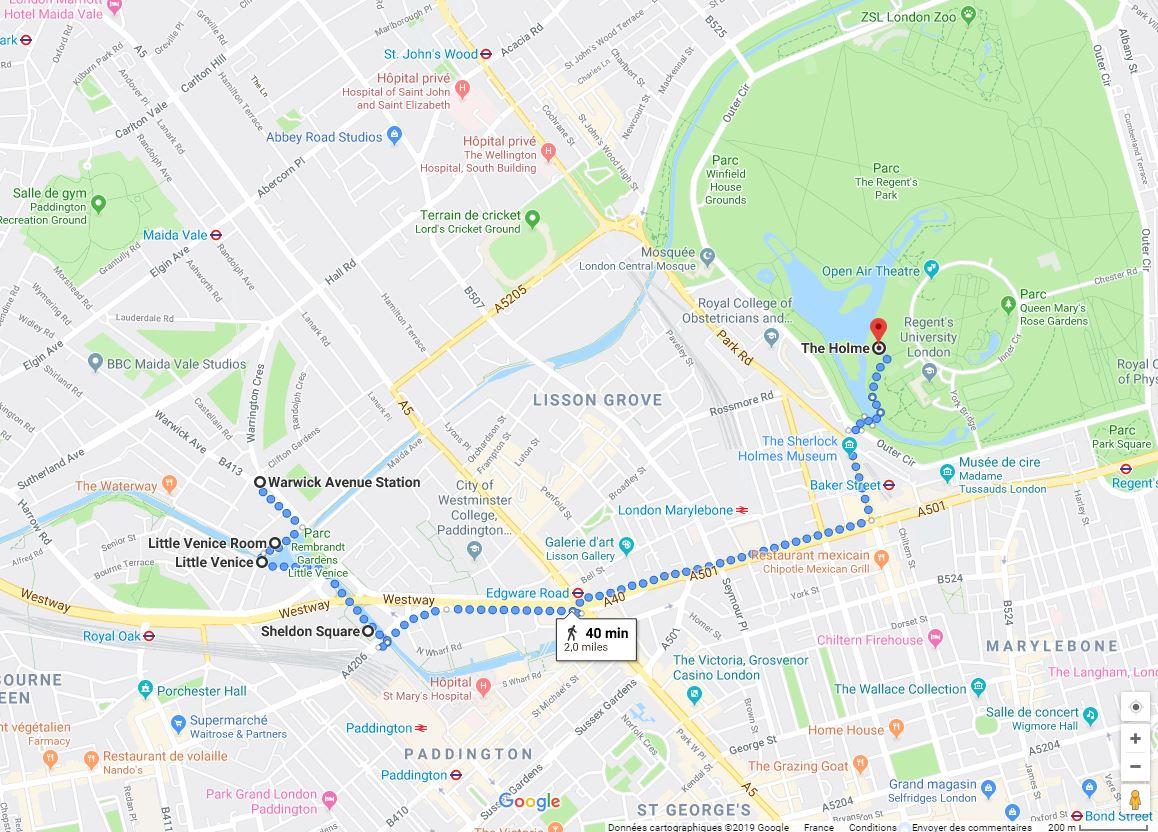 itinéraire nature londres- quartiers londoniens à faire