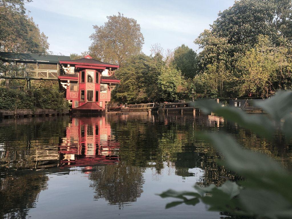 regents park et regents canal Londres (2)