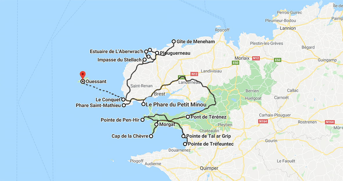 ROADTRIP FINISTERE DE CROZON A PLOUGUERNEAU