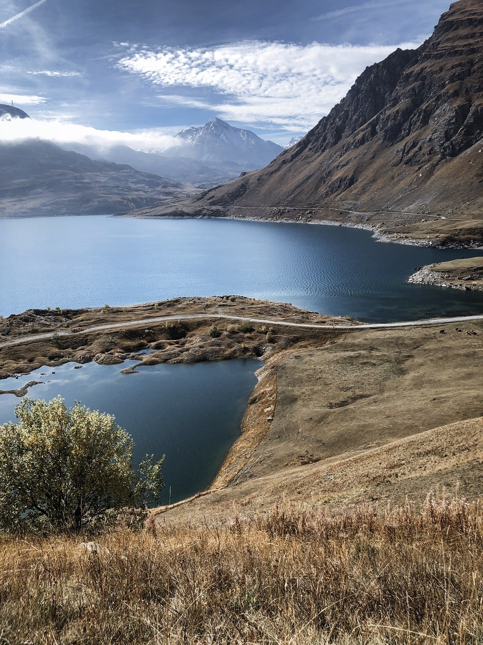 paysage mont cenis