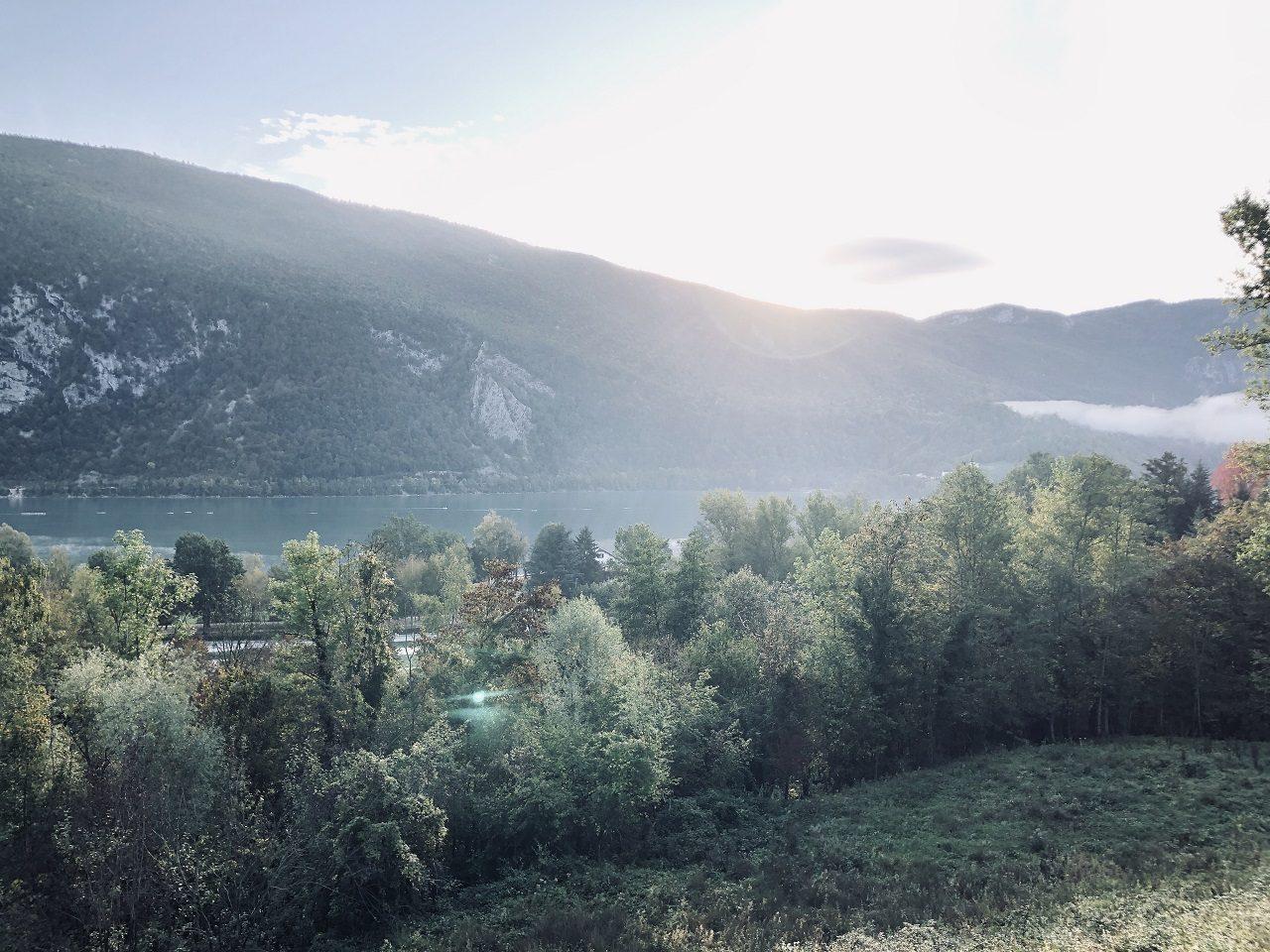 paysages sur la route france - italie (2)