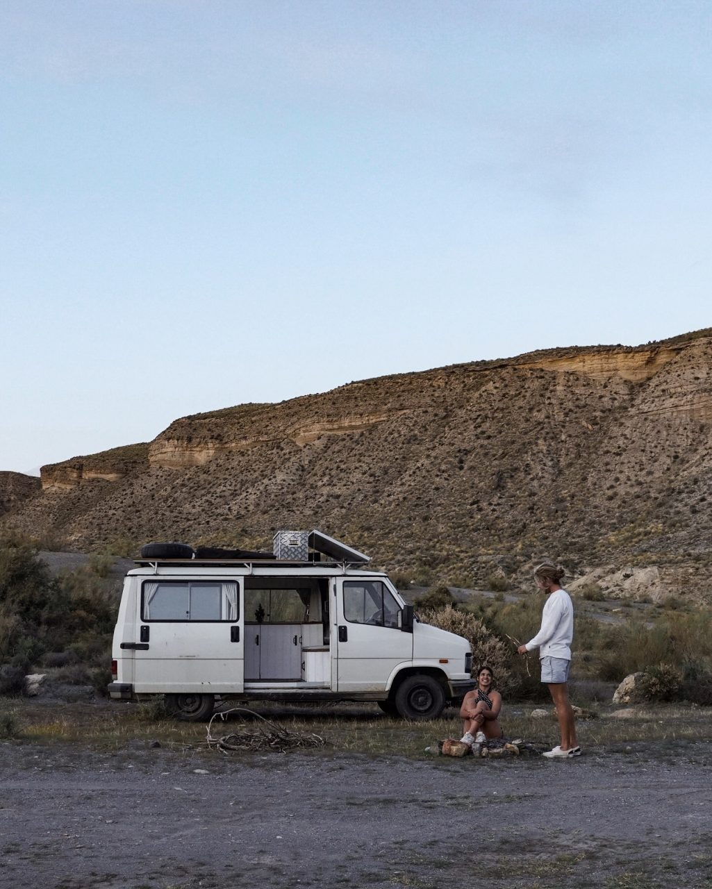 le desert de tabernas en van - espagne
