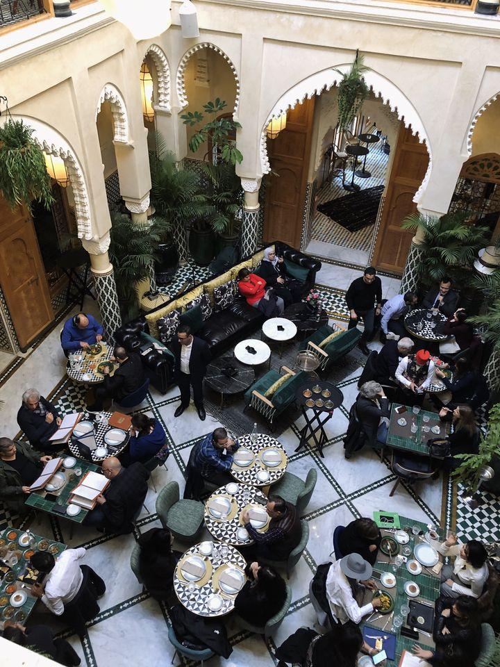 DAR DADA RESTAURANT citytrip à Casablanca - voyage au Maroc