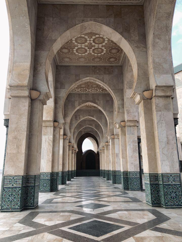 GRANDE MOSQUEE citytrip à Casablanca - voyage au Maroc (20)
