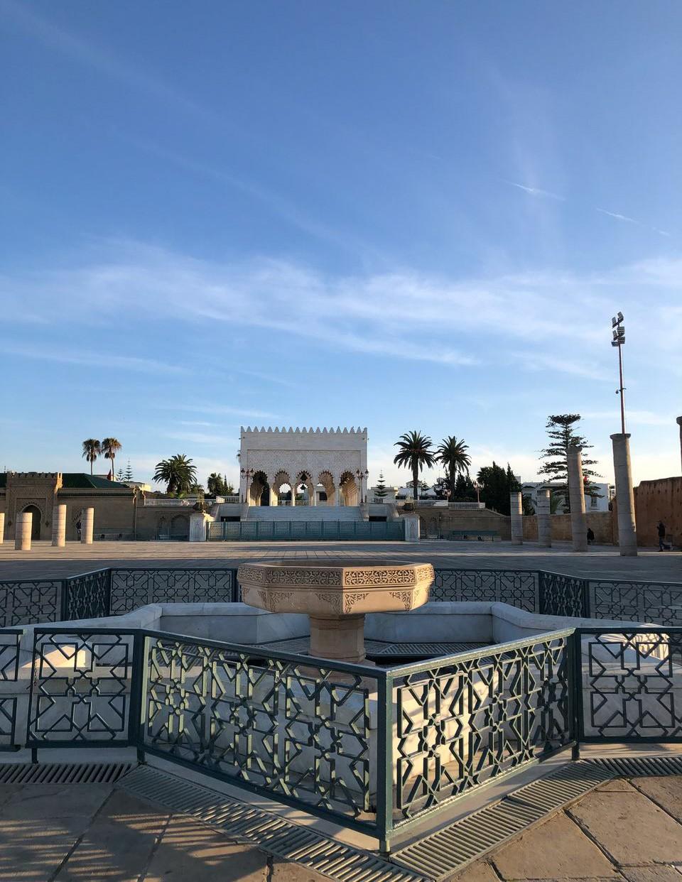 tour hassan et mausolée mohamed 5 - rabat maroc