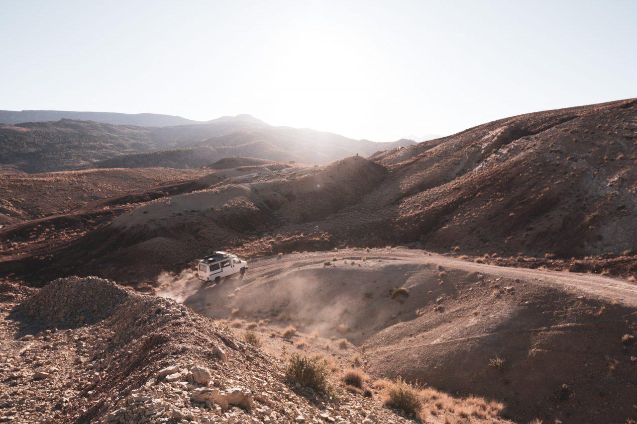 Le Maroc en van - de Ouarzazate à Merzouga