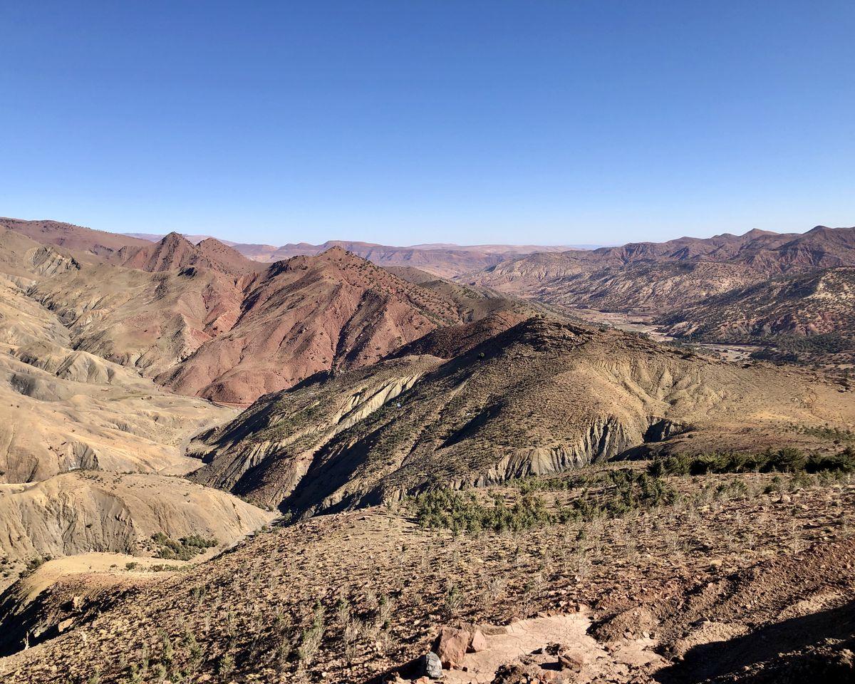 Le Maroc en van - itinéraire col de Tizi N Tchika (2)
