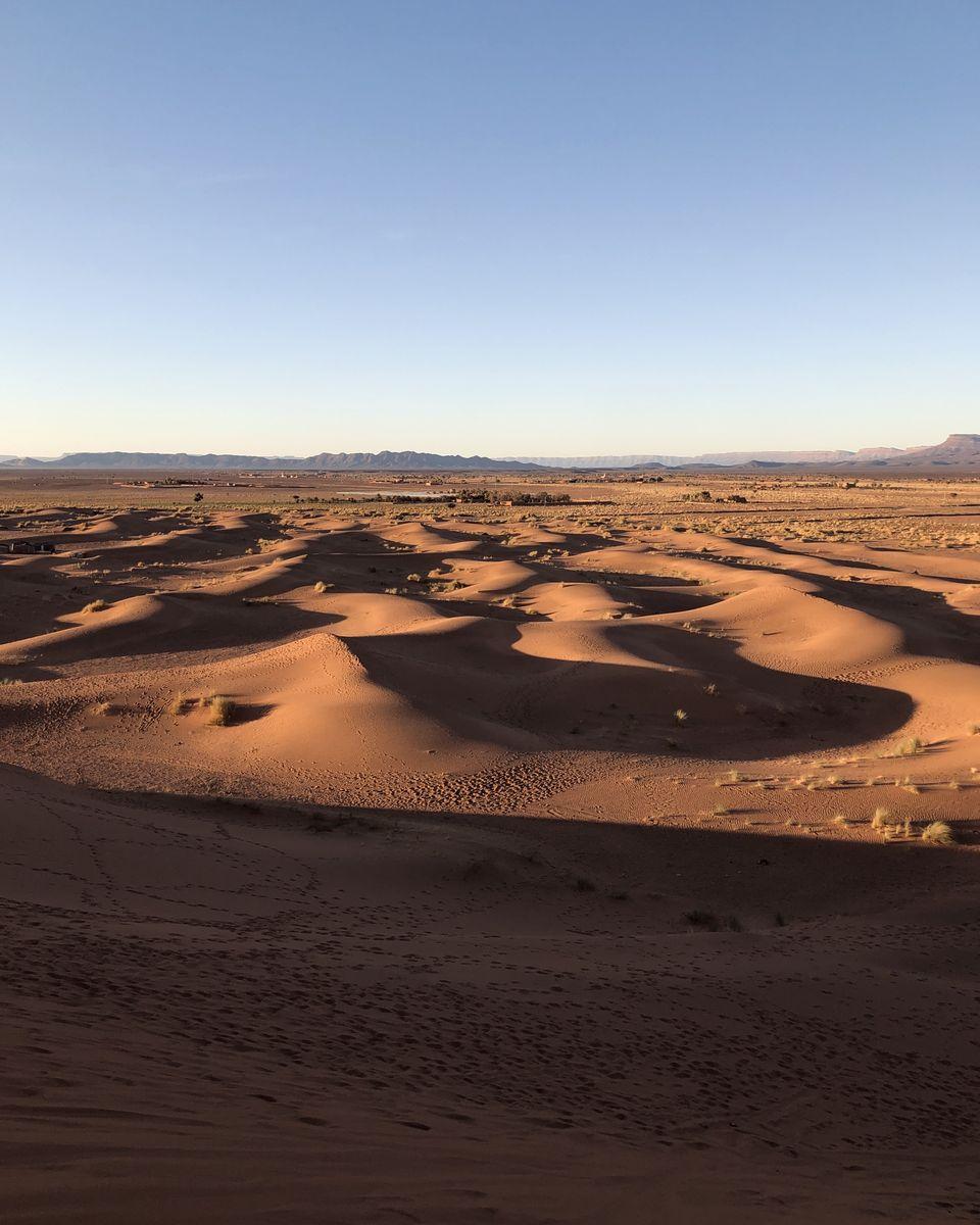 Les dunes de Tinfou et Zagora