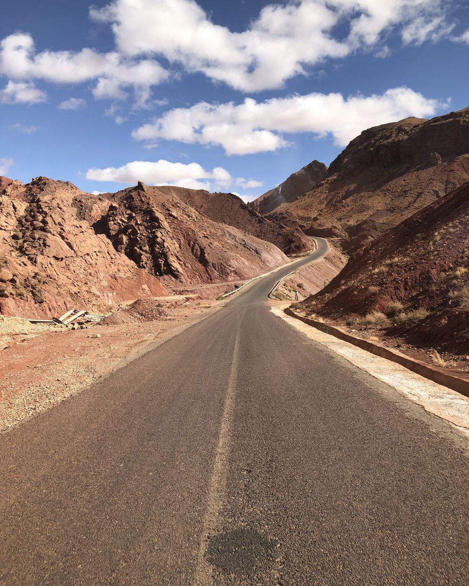 le Maroc en van - les gorges de Dadès