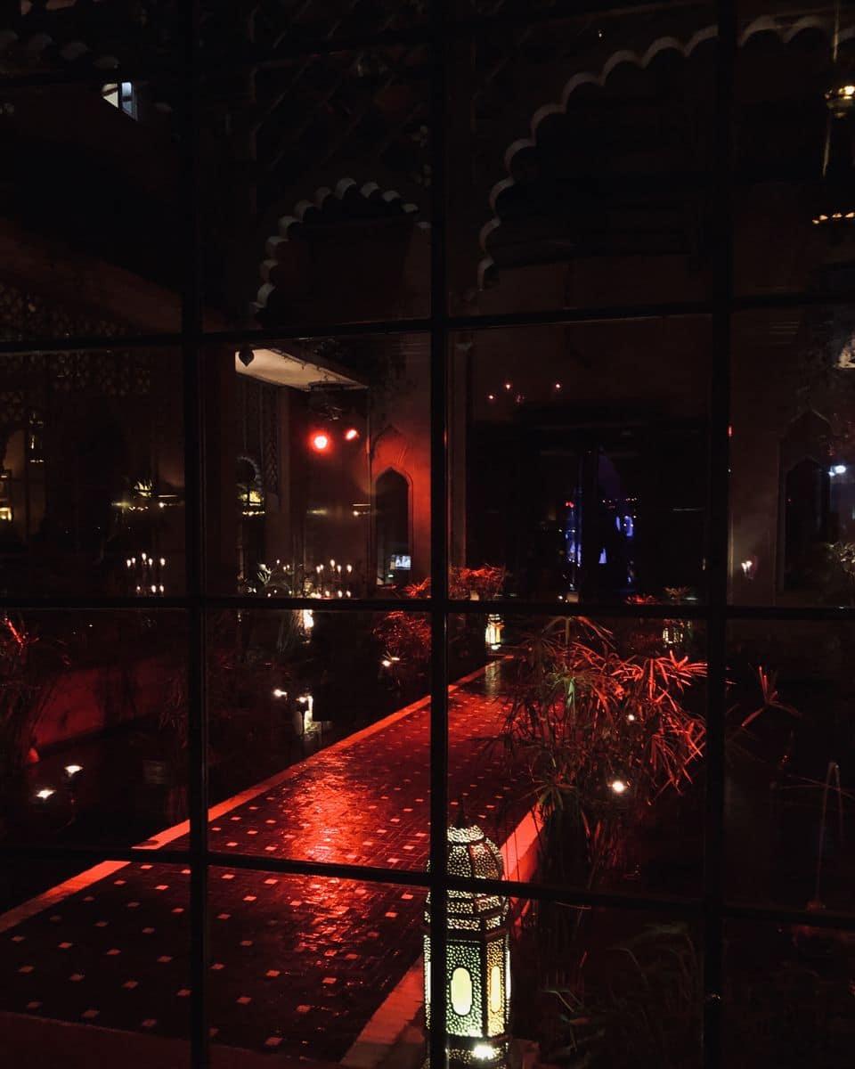 restaurant palais jad mahal marrakech