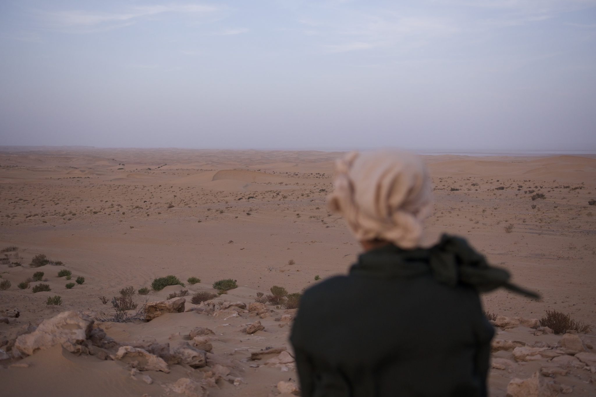 Bivouac dans le désert du Sahara - campement aux milles étoiles