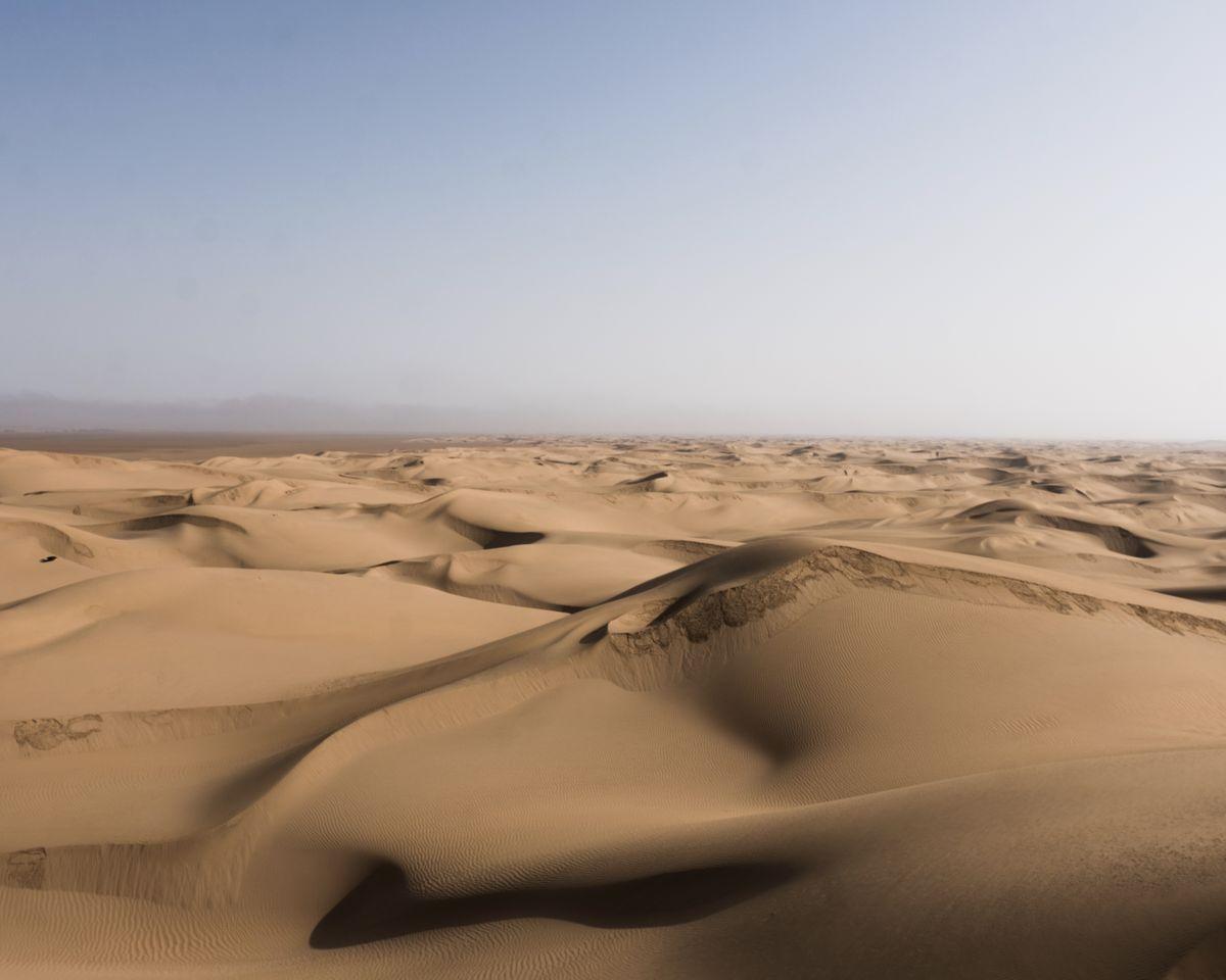 NUIT DE BIVOUAC DANS LE DESERT DU SAHARA (16)