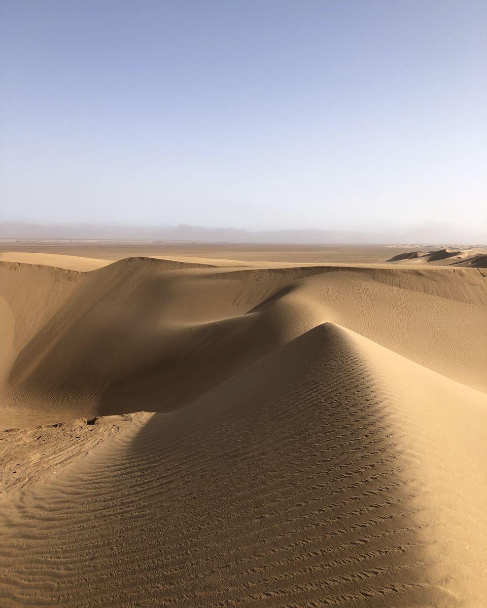 NUIT DE BIVOUAC DANS LE DESERT DU SAHARA (7)