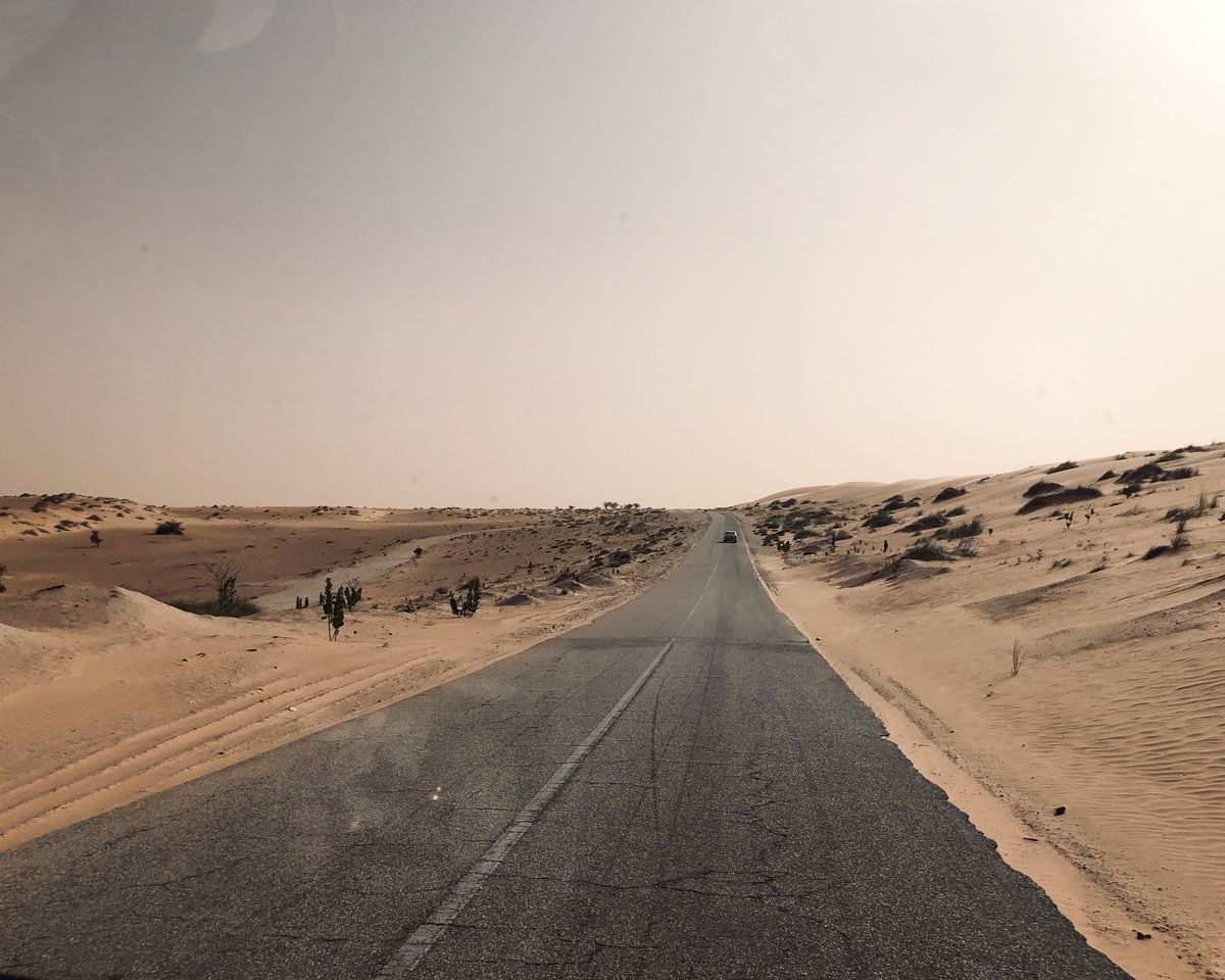 les routes Mauritaniennes
