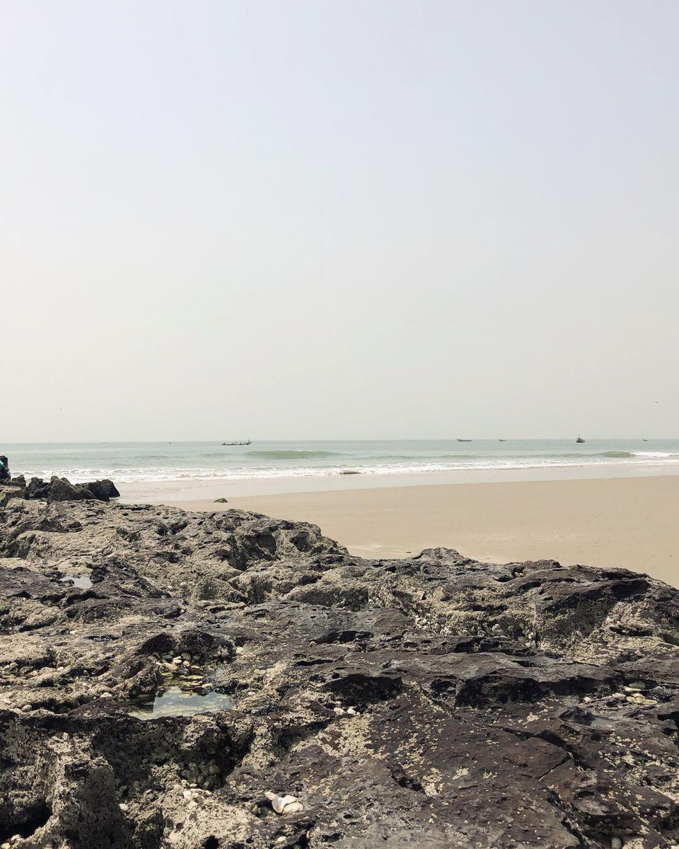 plage de Cap Skirring en Casamance