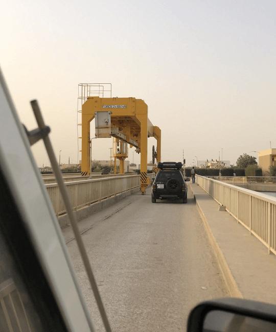 pont de Diama - frontière terrestre Sénégal