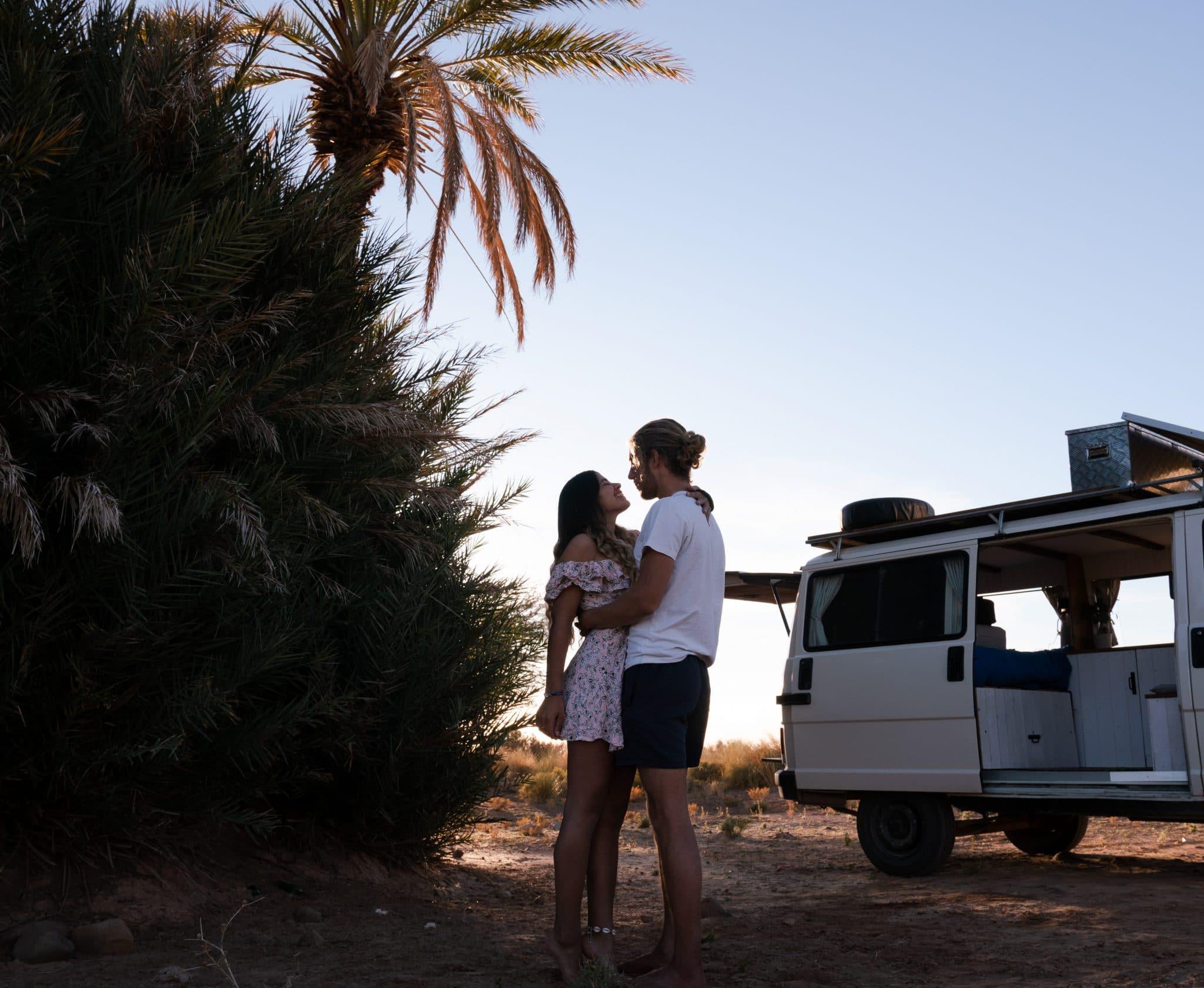 Vivre en couple dans un van aménagé