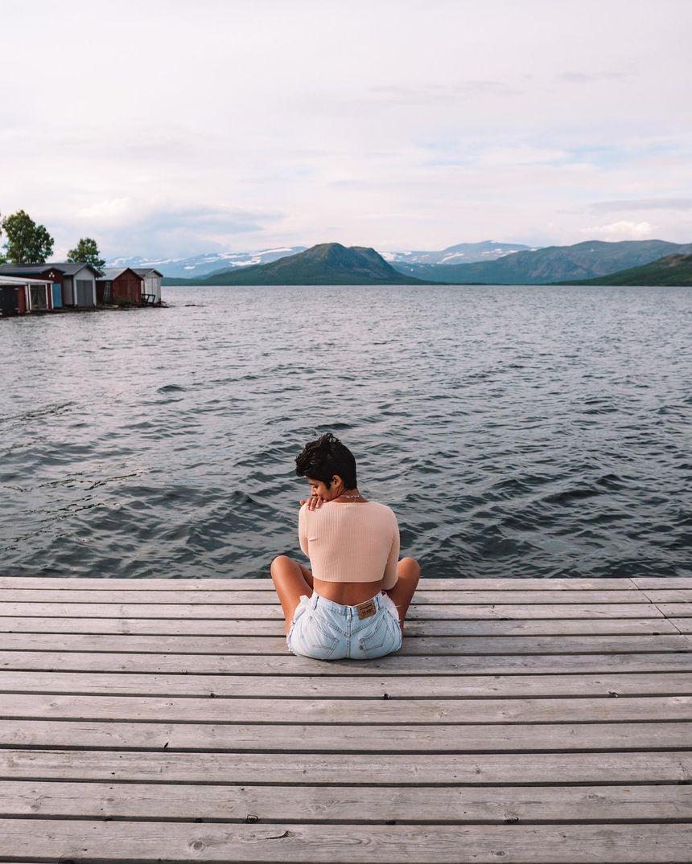 Abisko - lac Torneträsk