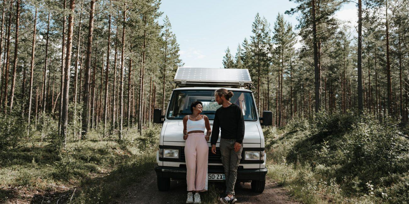 La Suède en van itinéraire de 3 semaines