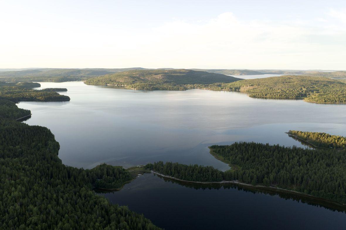 Skulesgogen National Park Suède