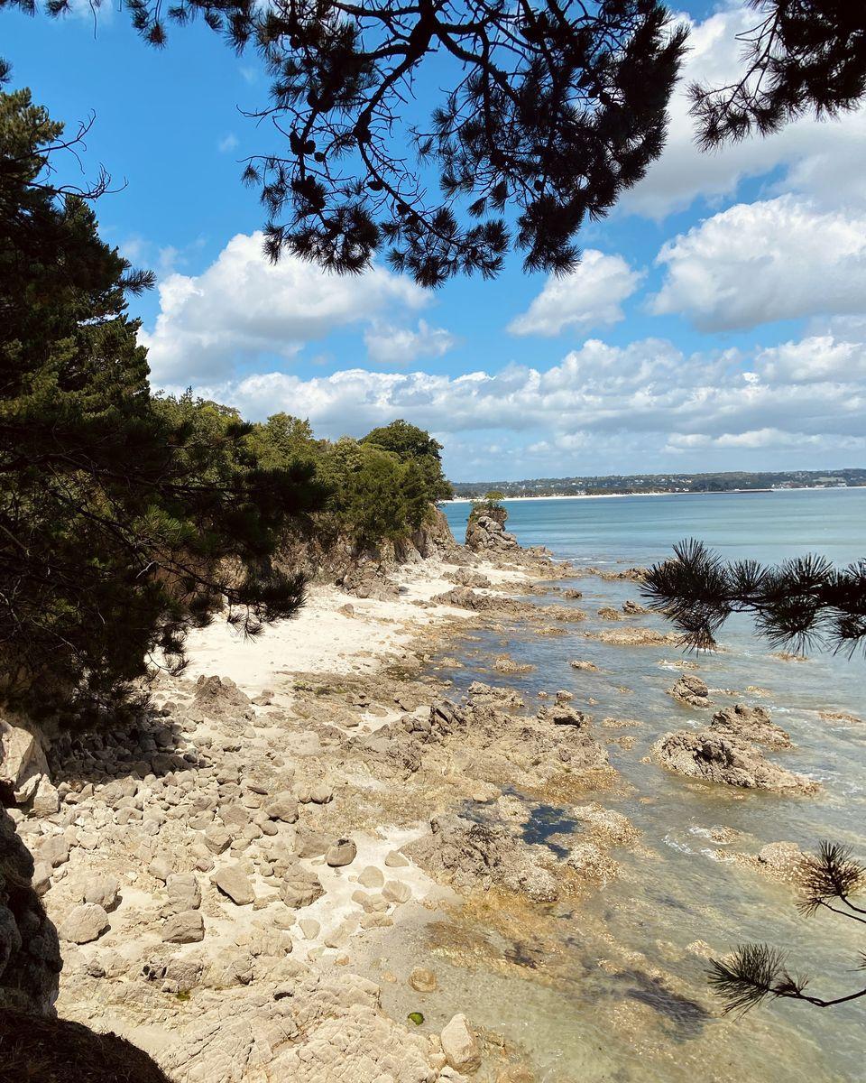 les criques de Beg Meil - Finistère Sud