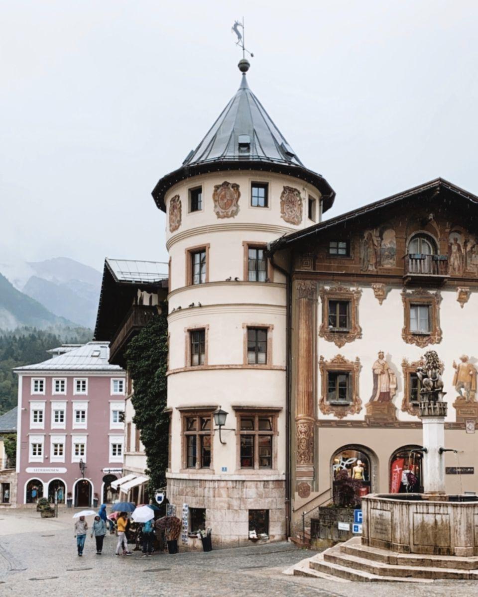 Berchtesgaden, village de Bavière ALLEMAGNE