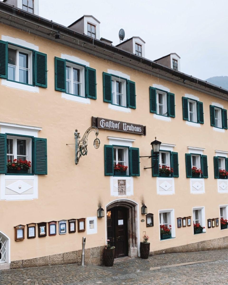 Berchtesgaden, village de Bavière