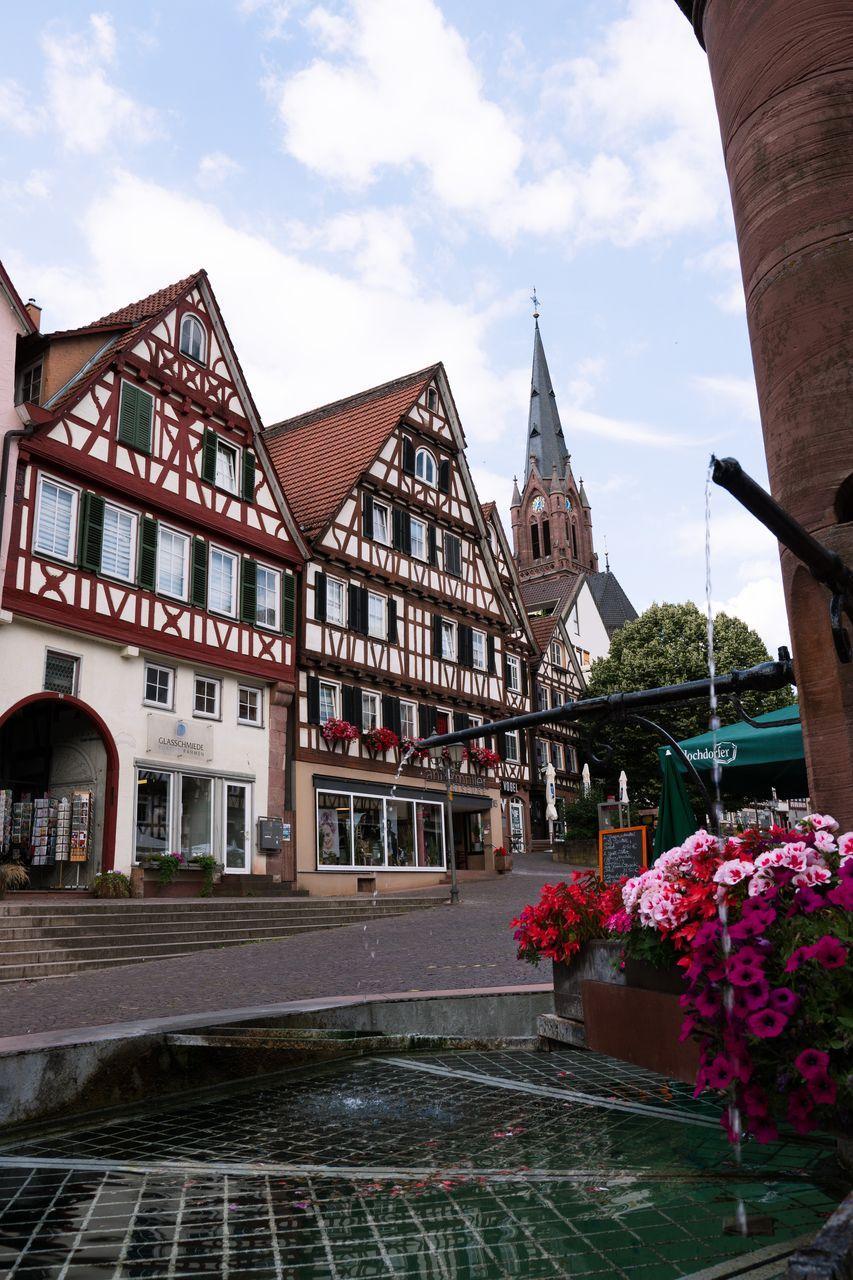 Calw - village de la forêt noire - Allemagne