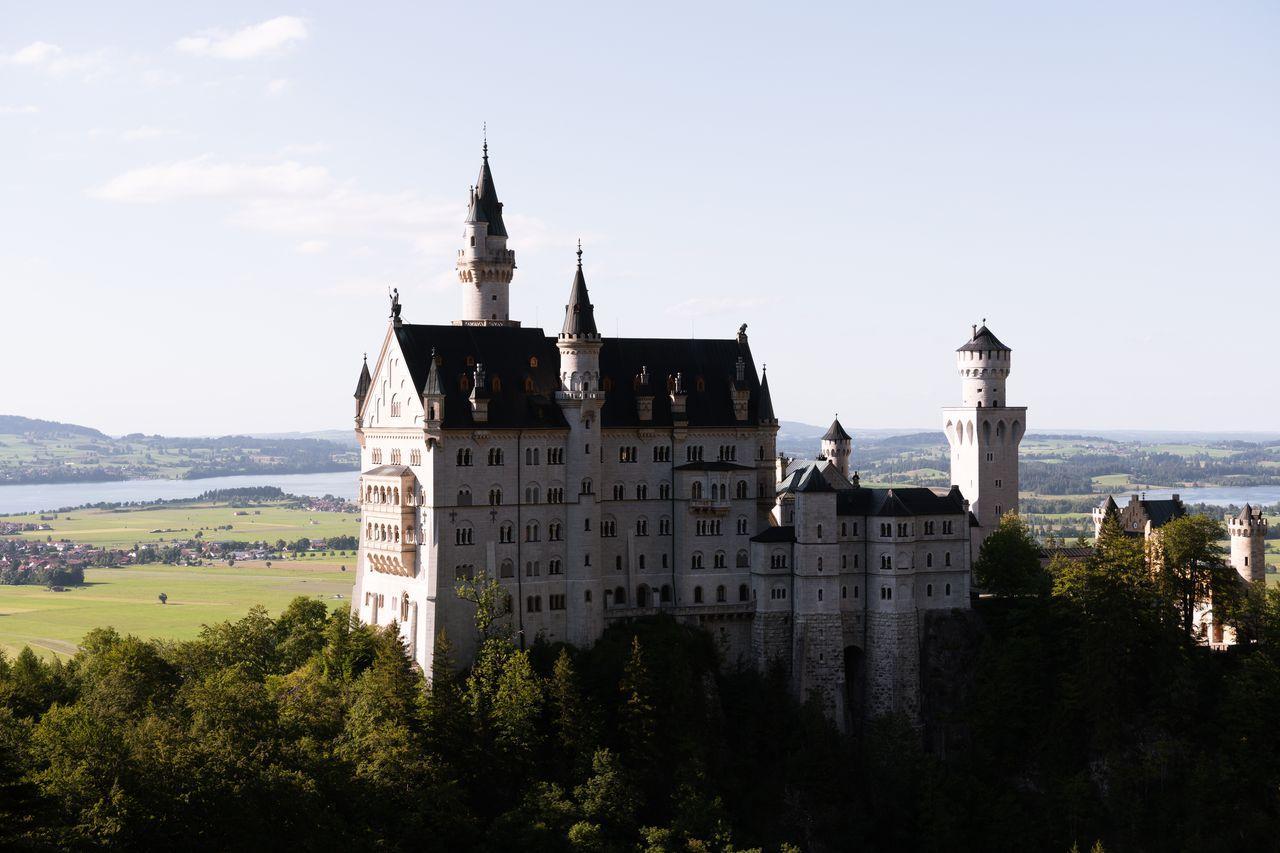 château de Neuschwanstein - la belle au bois dormant, Bavière
