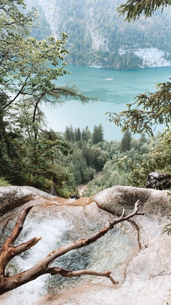 cascade lac Königssee - Bavière