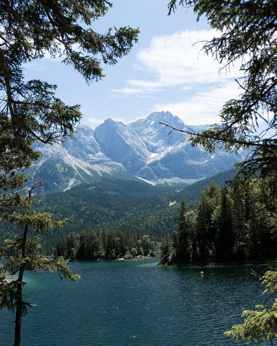 le lac d'Eibsee
