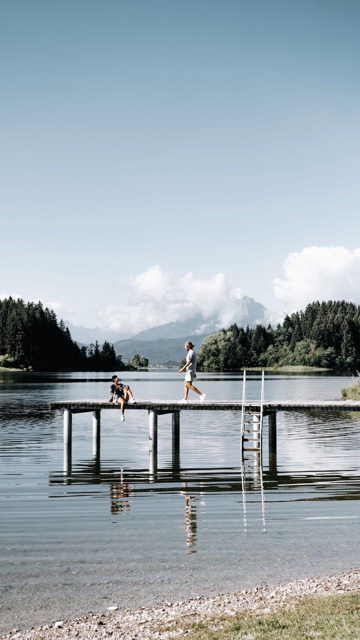 le lac Forggensee - Allemagne - voyage en van lilytoutsourire
