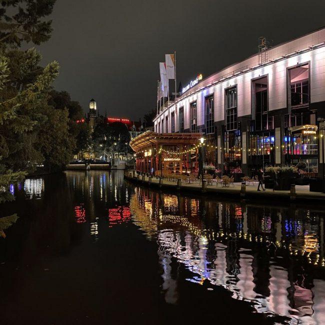 Sushisamba sur les canaux d'Amsterdam