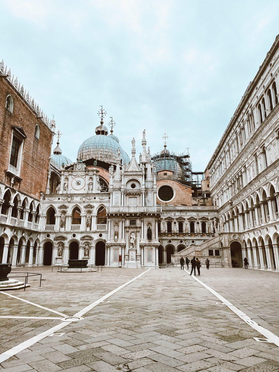 Le palais des Doges - Venise