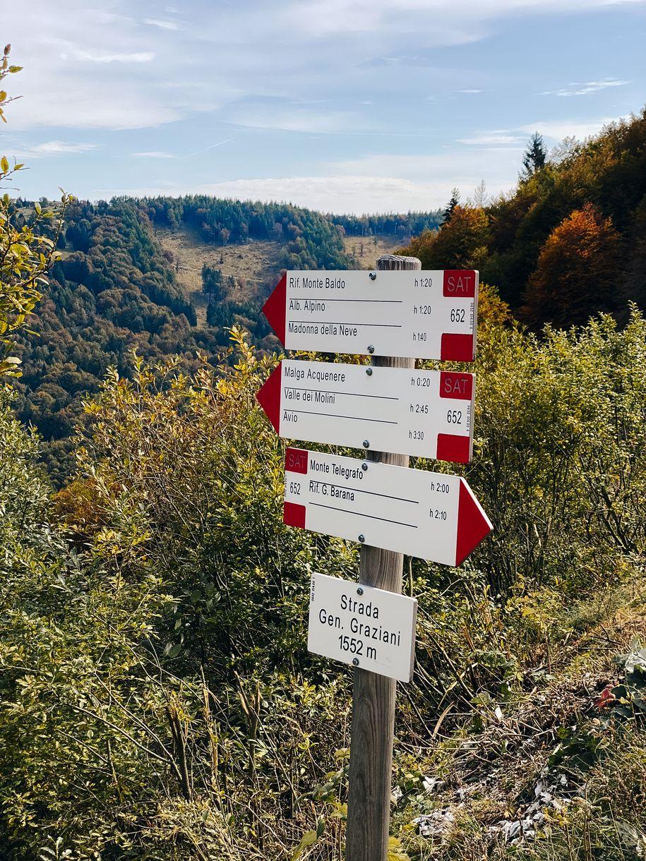 Randonnée Monte Baldo - Lac de Garde