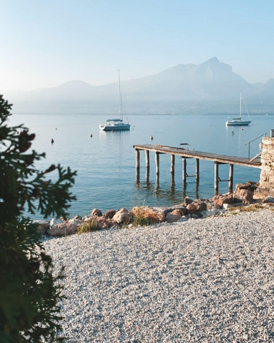 Punta San Vigilo - Coucher de soleil au lac de Garde