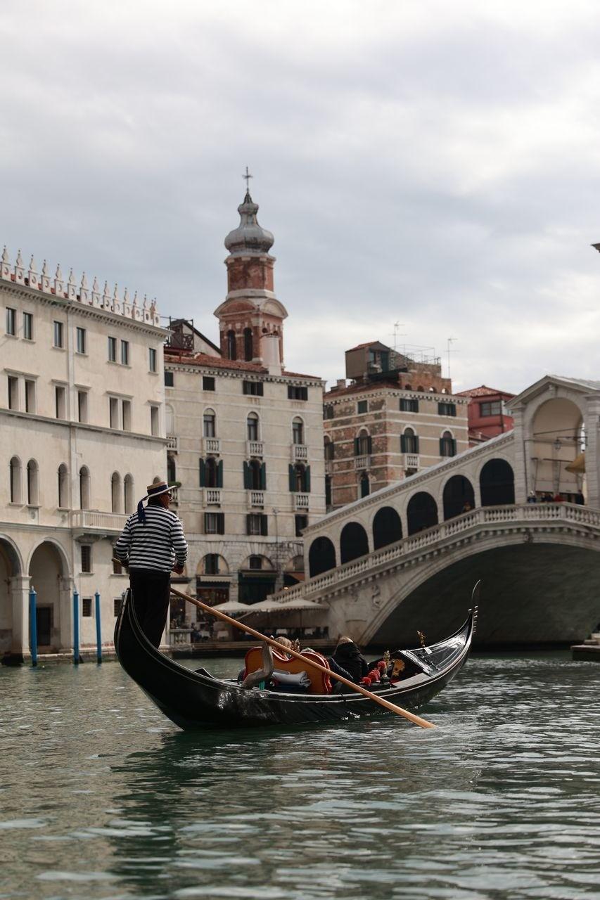 Virée en gondole à Venise