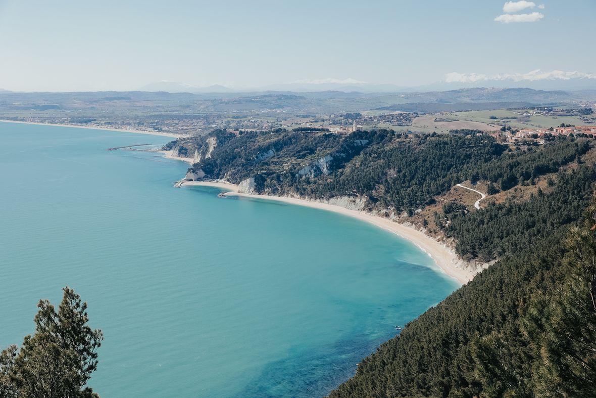 Spiaggia delle due sorelle - plus belle plage d'Italie