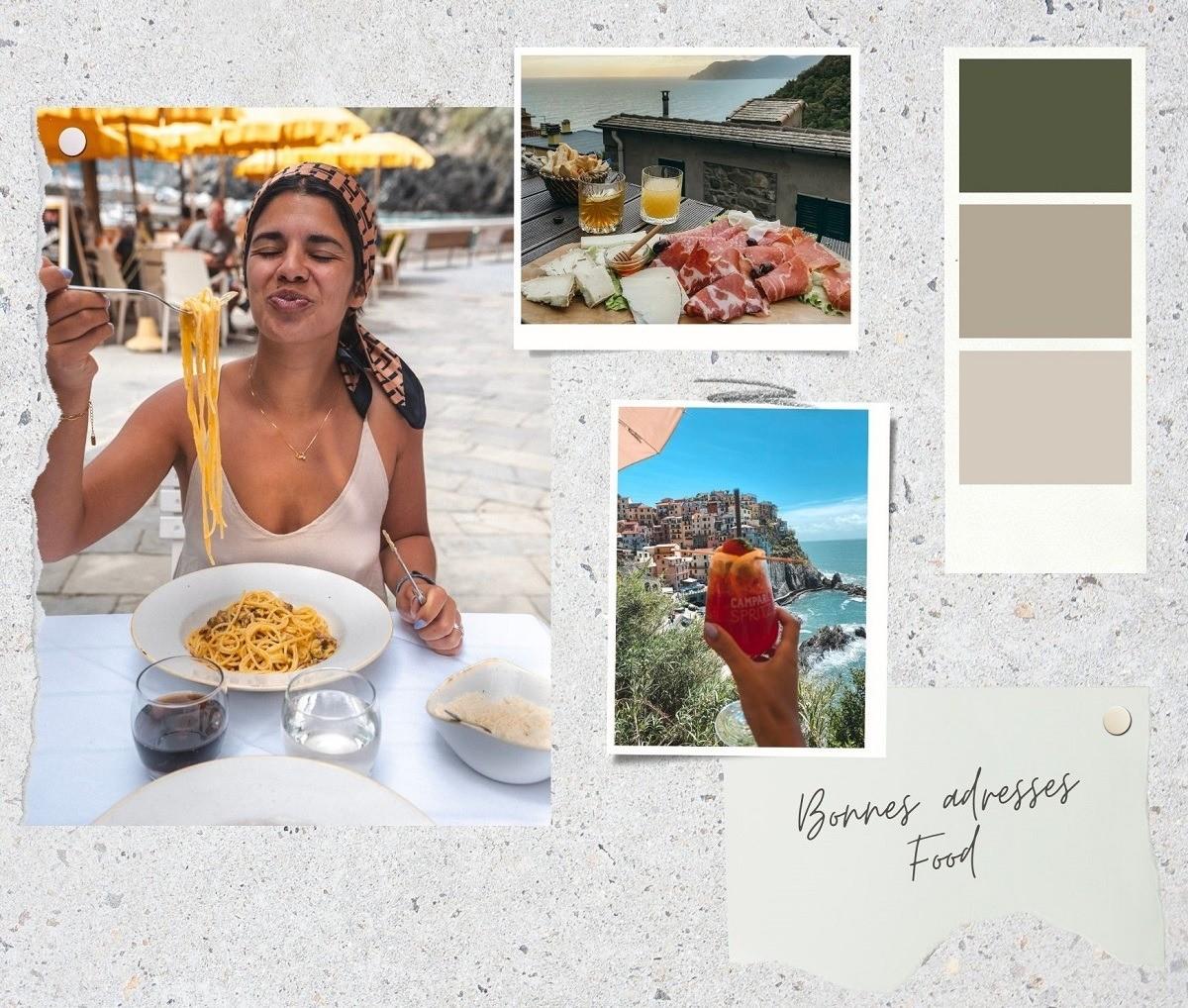 Bonnes adresses Food - Cinque Terre
