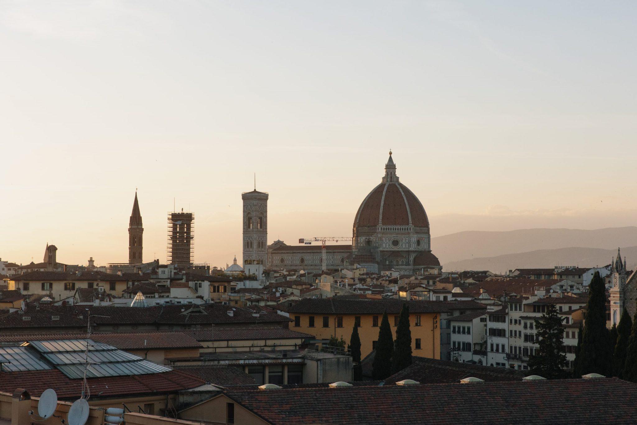Florence - TOP 3 des rooftops pour voir le coucher de soleil - Italie