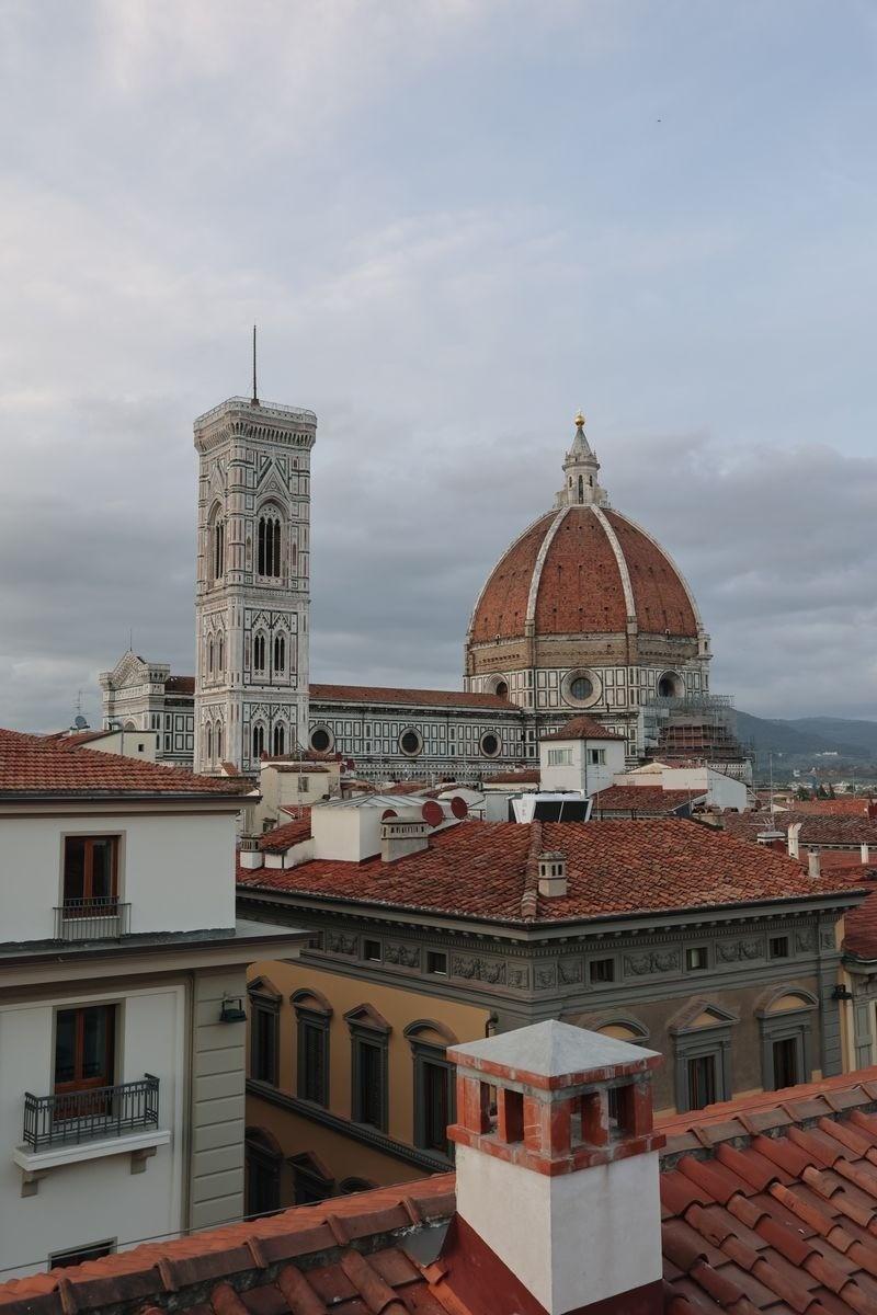 Rooftop coucher de soleil Florence - Toscanino